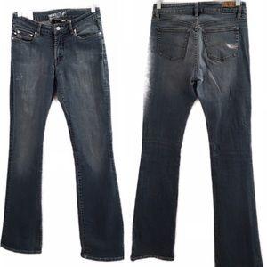 Parasuco women's jeans size 11 Long Straight Leg